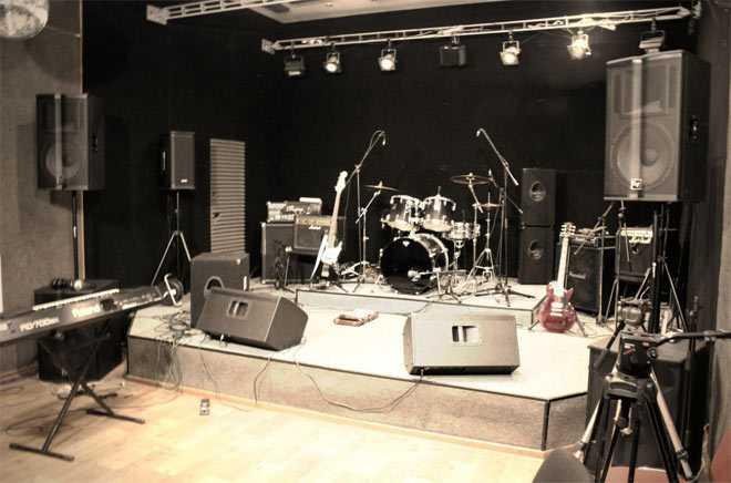 Концертный зал - Реп. база