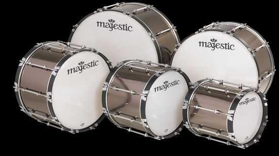 Как правильно записать большой барабан.